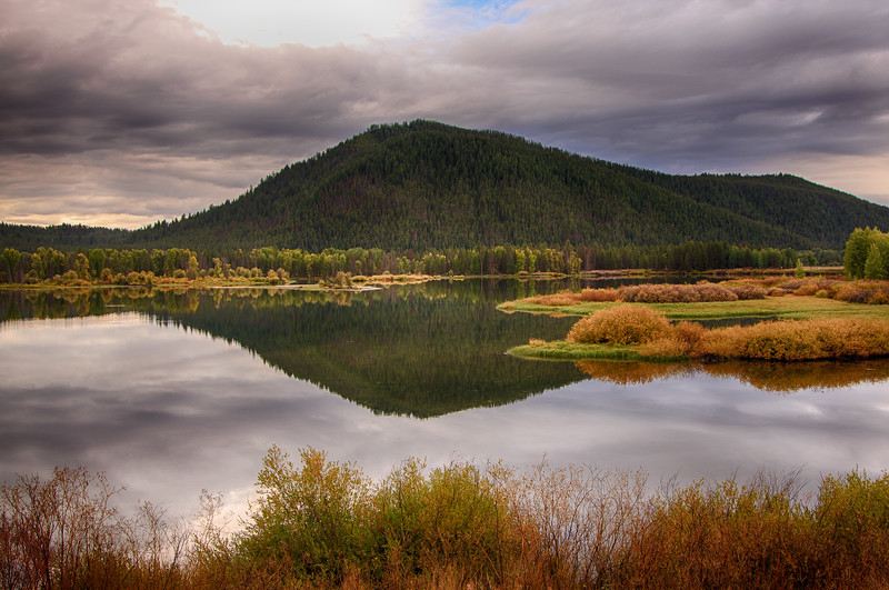 Oxbow Bend reflections 2