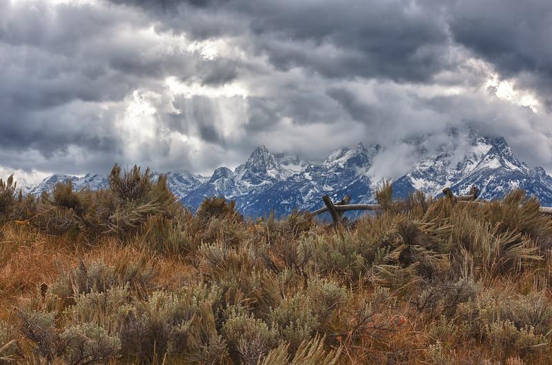 Grand Teton NP,  storm clouds-2