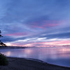 Yellowstone Lake predawn reflections