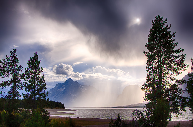 Jackson Lake-Colter Bay storm
