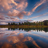 Oxbow Bend sunset reflections 4