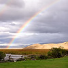 Jackson Hole rainbows