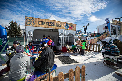 X Games Aspen 2015-Crowds,Signage,XFest,Playground,ToughBlocks