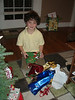 Shayne wrapped his present to Max 6 times!