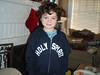 Santa brought Max a custom Holy Spirit sweater