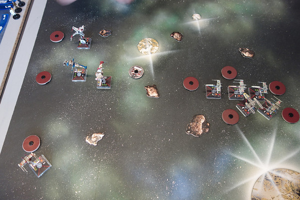 X-wing tournament at VikingCon 2014