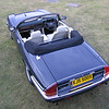 XJS500X - 5.3 litre V12 convertible : This 1990 V12 convertible has had a comprehensive restoration by KWE. Resprayed in Jaguar Westminster Blue, with a full exterior engine overhaul and fully restored suspension (including KWE uprated system), brakes and steering this is one of the very best examples around. KWE 10 spoke alloy wheels give a practical and sensible nudge towards modernity. The interior has been fully re-trimmed with new leather, wool carpets and burr walnut veneers. A modern but classic style audio unit finishes off a modernised but totally classic XJS.