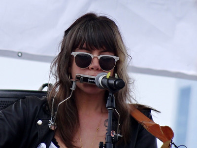 Hurray for the Riff Raff, lead singer Alynda Lee Segarra