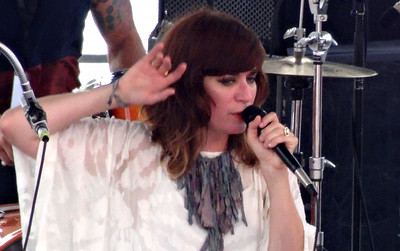 Nicole Atkins on the Marina Stage