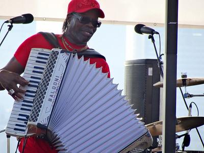 C.J. Chenier, River Stage, Wiggins Park, Camden, NJ
