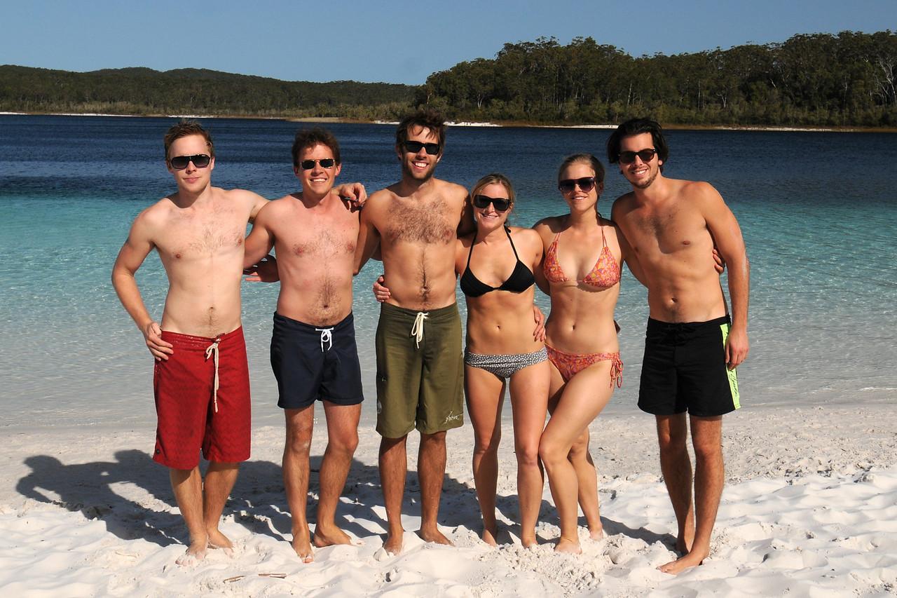 Scott and Friends on Fraser Island, Australia last September.