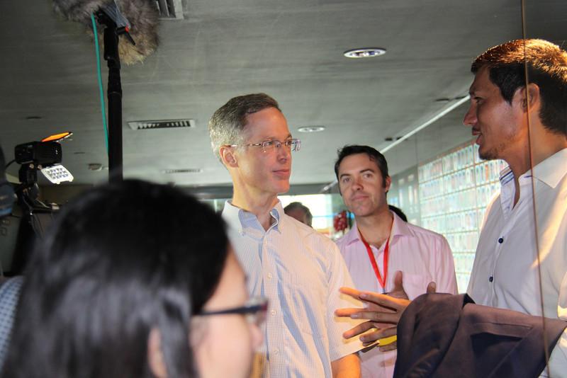 Rob McCormack, Jem Bendall, Alvin Wang