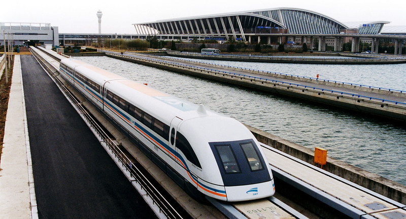 Maglev to Shanghai Pudong airport