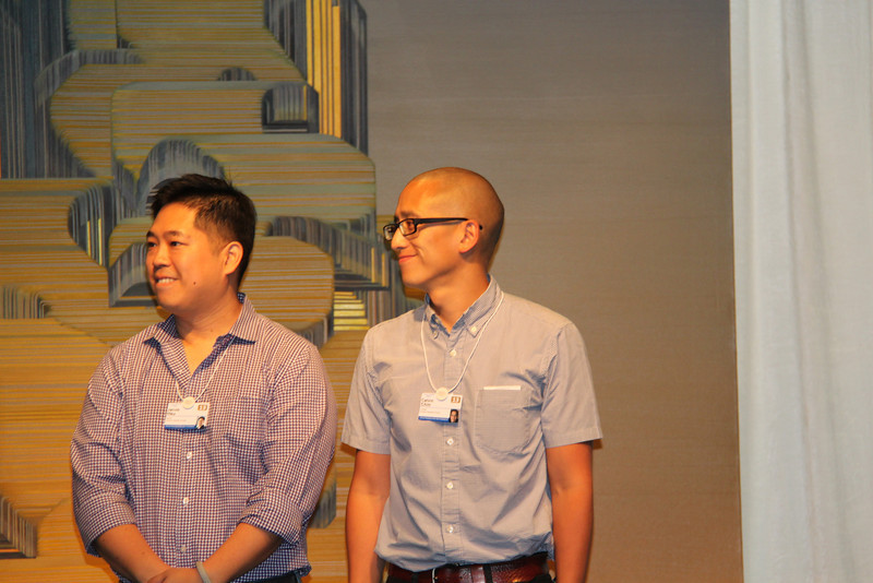 Jacob Hsu and Calvin Chin, YGLs