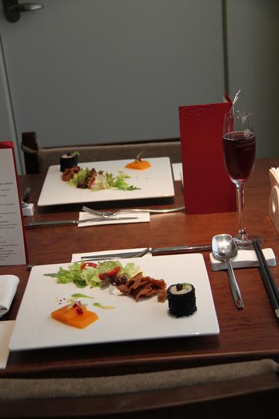 Lunch at Wujie Restaurant, Bund 22
