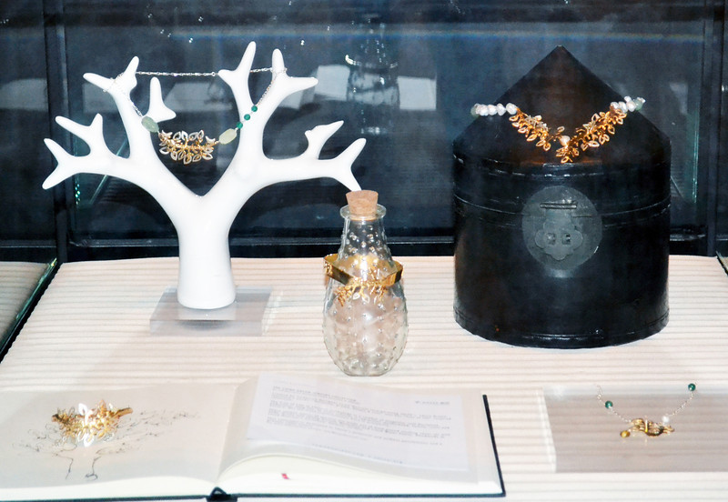 """Launch of """"China Dream"""" handcrafted jewelry collection- collaboration between YGLs Lama Hourani and Peggy Liu"""