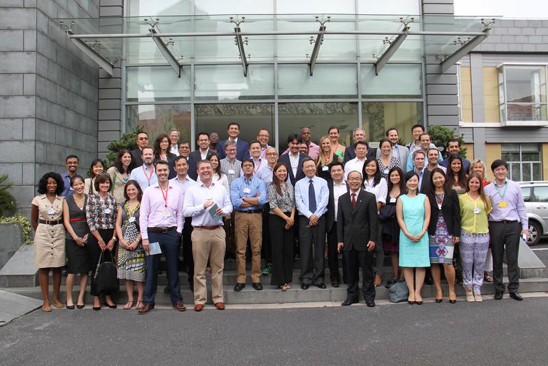 YGLs at CELAP, 全球青年领袖在上海浦东干部学院