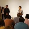 Wu Jie's Owner Mr. Song Yuan Bo with Peggy Liu, 无界餐厅创始人宋渊博和聚思主席刘佩琦
