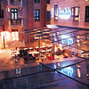 Xintiandi at night - Fountain restaurant