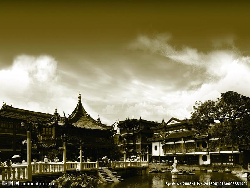 Yu Garden of Shanghai