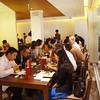 YGLs enjoying lunch at Wu Jie Restaurant 大蔬无界餐厅