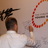 YGLs signing board at Wujie on the Bund, Bund 22