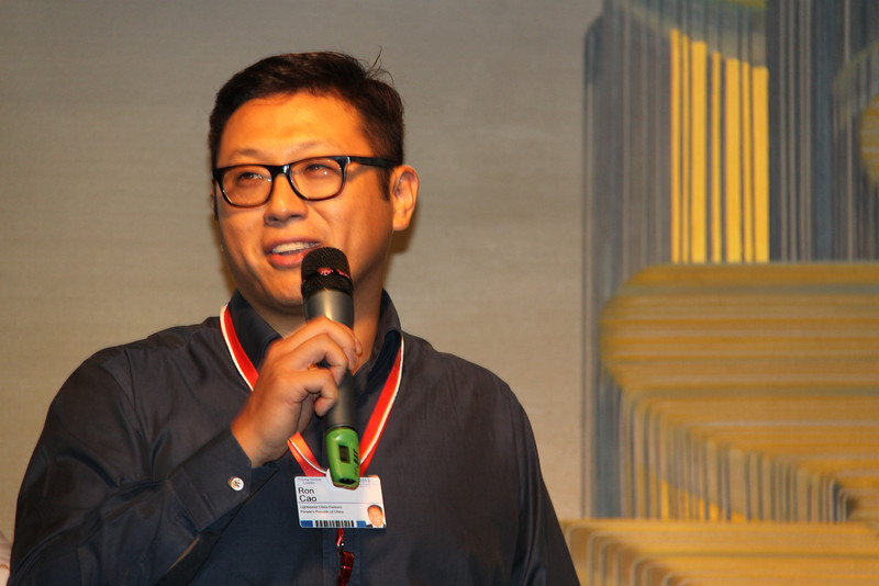 Ron Cao, YGL at Three on the Bund Art Gallery