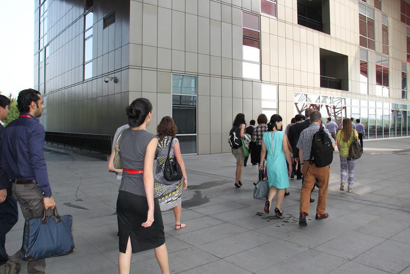 Touring CELAP 浦东干部学院