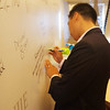 Wu Jie Signature White Board 大蔬无界签名板