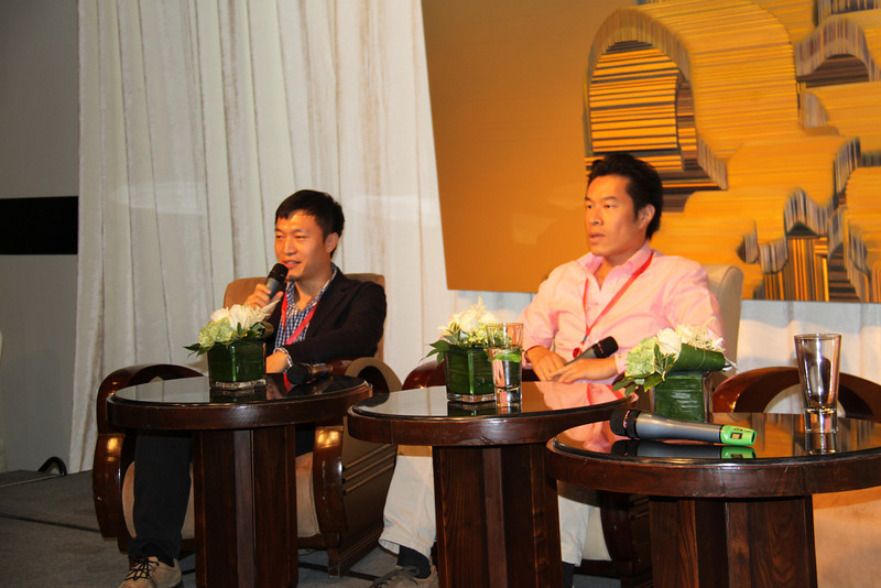 Social Media discussion at Three on the Bund with Isaac Mao and Steve Leong