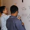 YGLs signing board at Wujie on the Bund, Bund 22