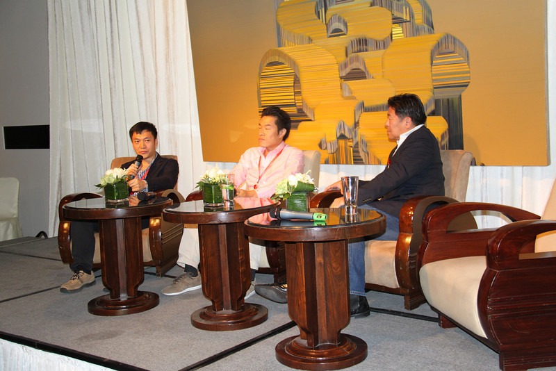 Social Media discussion at Three on the Bund with Isaac Mao, Richard Hsu and Steve Leong