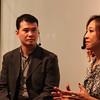 Peggy Liu, YGL and Mr Sung, Wujie at 22 Art Center in Bund 22