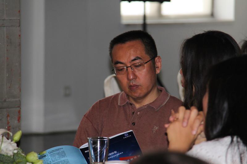 Zhu Qun, JUCCCE Board Member at Three on the Bund