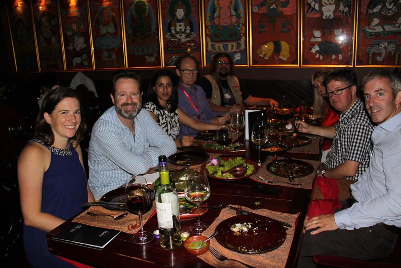 Dinner at Lost Heaven on the Bund