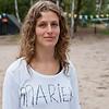 Marieke, een staflid.