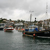 Coming into the harbour at Mevagissey