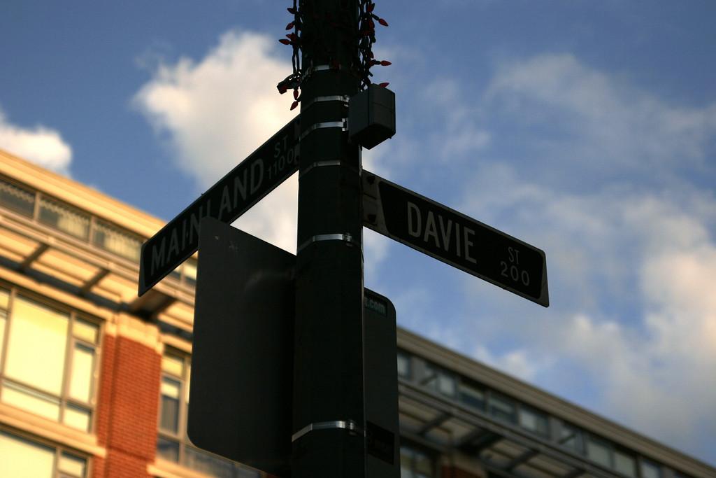 Mainland & Davie in Yaletown