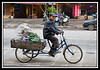 Tricycle delivery man...