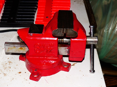 3.5 inch vise $7