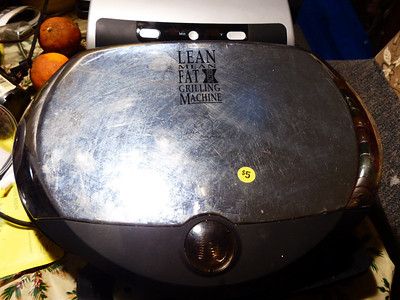 George Foreman Grill.  $3