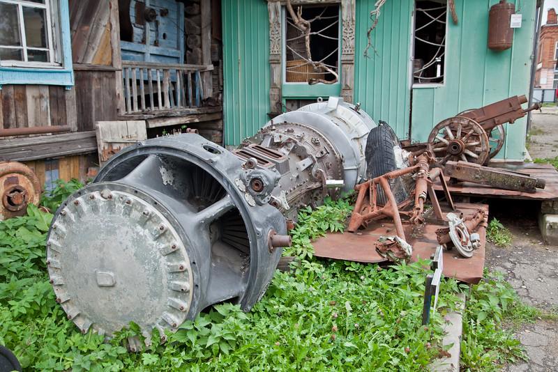 Самолетная турбина трудилась в газовой промышленности