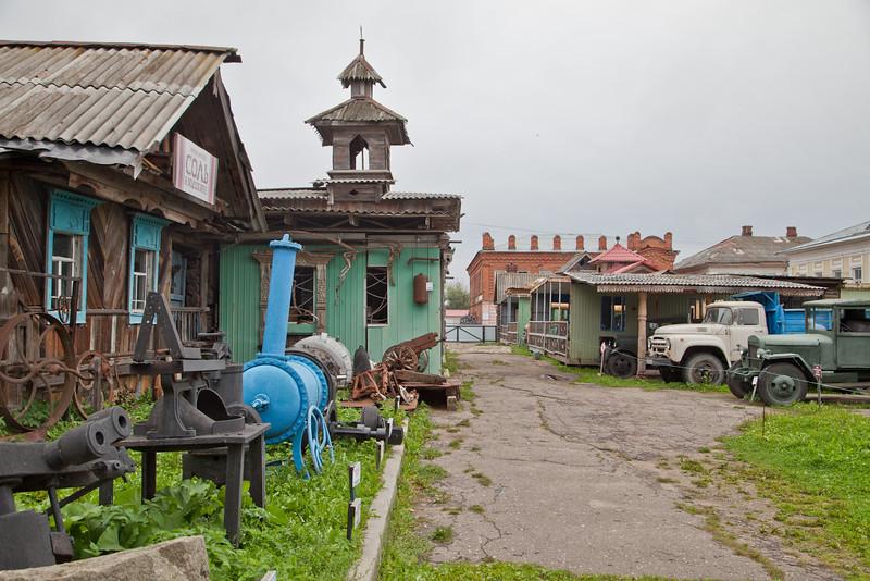 Этнографический музей в Мышкине