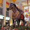 The Win Luck horse at the Palazzo.