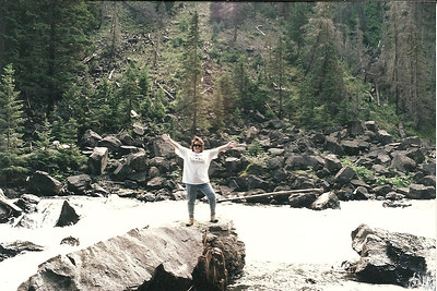 Me in the Gardner River just below Osprey Falls