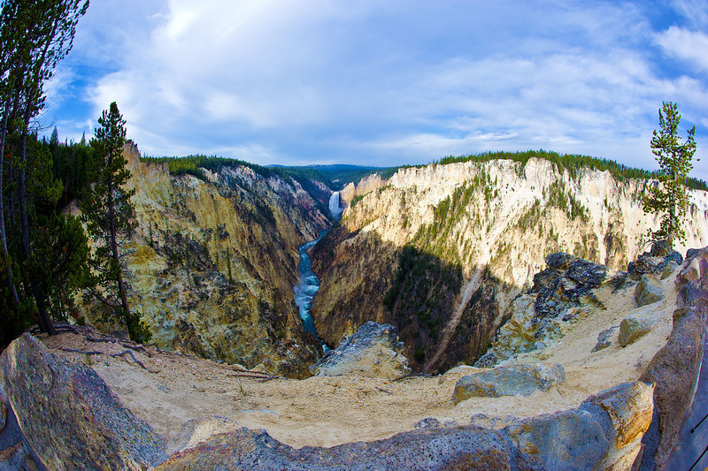 Fisheye View from Artists Point_YNP_D3S1042