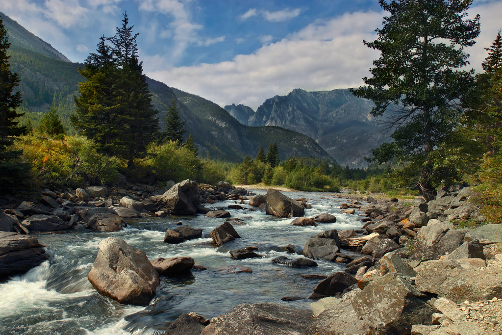 Stillwater River<br /> Absaroka-Beartooth Wilderness, MT