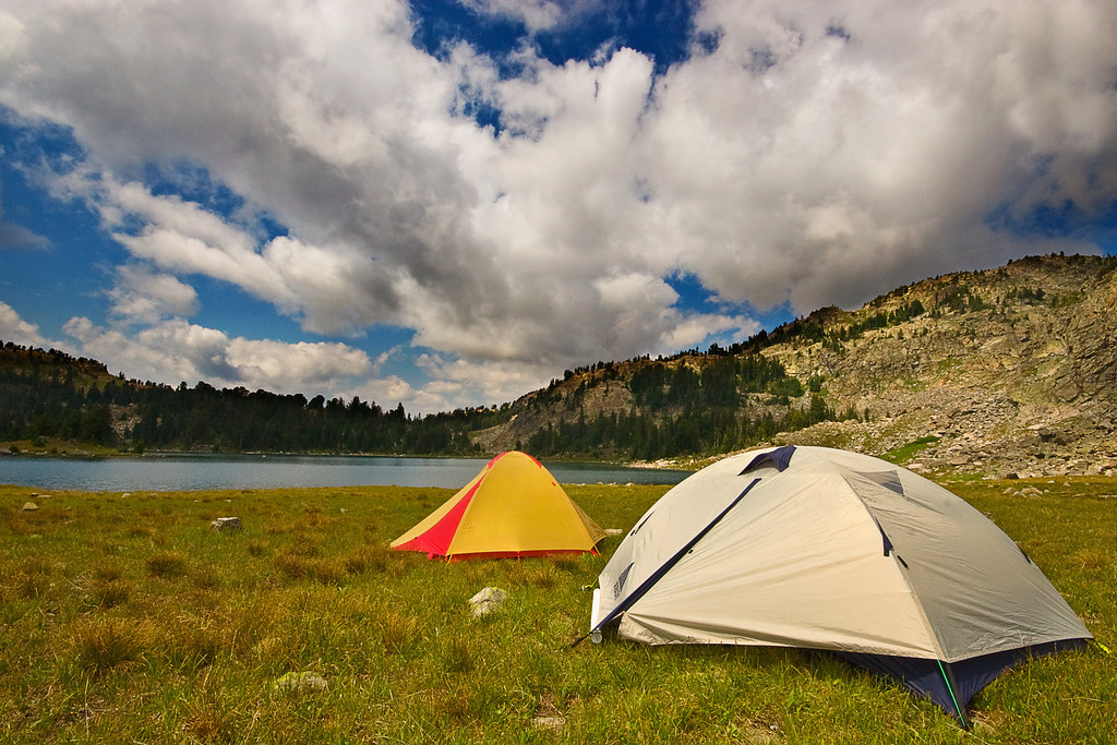 Sky Camp, Martin Lake, Absaroka-Beartooth Wilderness