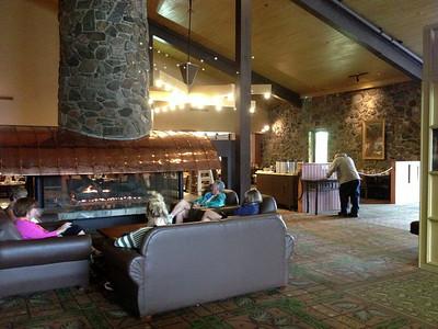 Canyon Lodge dining room