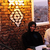 sana'a old city with graduate school friend, nesreen